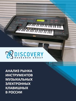 Анализ рынка инструментов музыкальных электронных клавишных в России