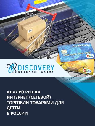 Анализ рынка интернет (сетевой) торговли товарами для детей в России