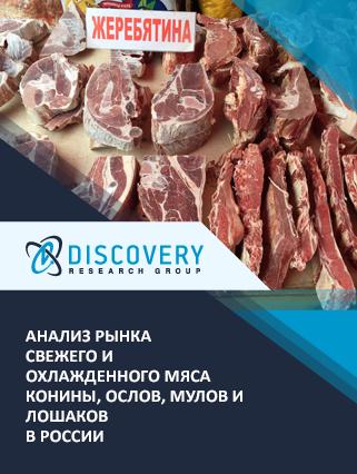 Анализ рынка свежего и охлажденного мяса конины, ослов, мулов и лошаков в России
