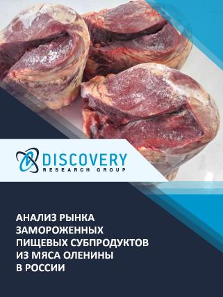 Анализ рынка замороженных пищевых субпродуктов из мяса оленины в России