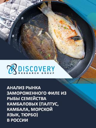 Маркетинговое исследование - Анализ рынка замороженного филе из рыбы семейства камбаловых (палтус, камбала, морской язык, тюрбо) в России