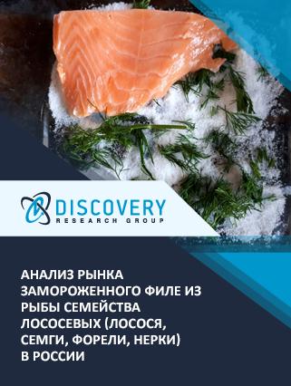 Маркетинговое исследование - Анализ рынка замороженного филе из рыбы семейства лососевых (лосося, семги, форели, нерки) в России