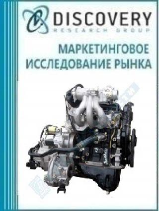 Маркетинговое исследование - Анализ рынка автомобильных двигателей внутреннего сгорания (ДВС) в России (с предоставлением базы импортно-экспортных операций)