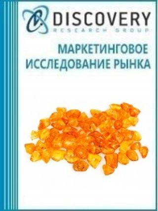 Маркетинговое исследование - Анализ рынка кислоты янтарной в России (с базой импорта-экспорта)