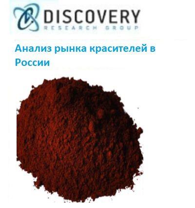 Маркетинговое исследование - Анализ рынка непищевых красителей в России (с базой импорта-экспорта)
