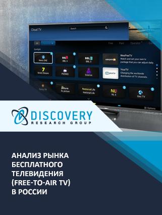 Анализ рынка бесплатного телевидения (free-to-air TV) в России