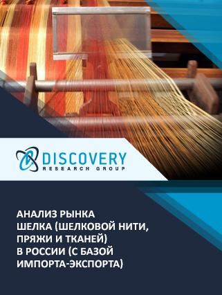 Анализ рынка шелка (шелковой нити, пряжи и тканей) в России (с базой импорта-экспорта)