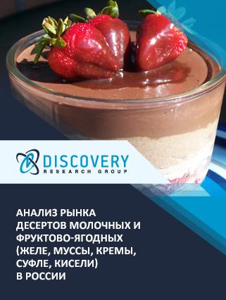 Анализ рынка десертов молочных и фруктово-ягодных (желе, муссы, кремы, суфле, кисели) в России