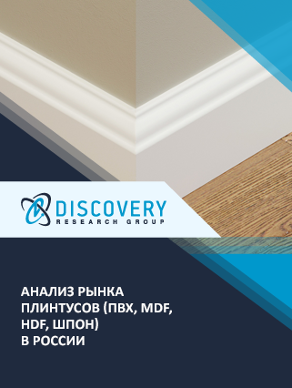 Маркетинговое исследование - Анализ рынка плинтусов (ПВХ, MDF, HDF, шпон) в России