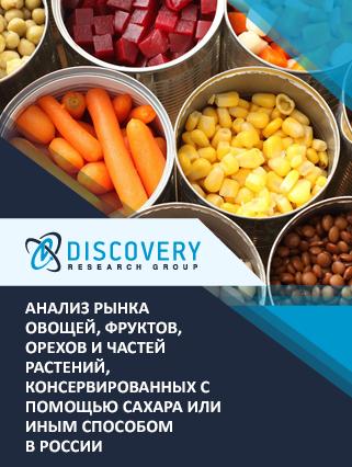 Маркетинговое исследование - Анализ рынка овощей, фруктов, орехов и частей растений, консервированных с помощью сахара или иным способом в России
