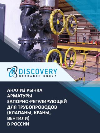 Маркетинговое исследование - Анализ рынка арматуры запорно-регулирующей для трубопроводов (клапаны, краны, вентили) в России
