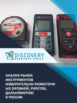 Анализ рынка инструментов измерительно-разметочных (уровней, рулеток, дальномеров) в России
