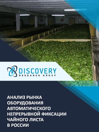 Маркетинговое исследование - Анализ рынка оборудования автоматического непрерывной фиксации чайного листа в России