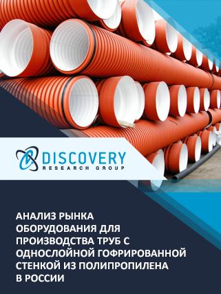 Маркетинговое исследование - Анализ рынка оборудования для производства труб с однослойной гофрированной стенкой из полипропилена в России