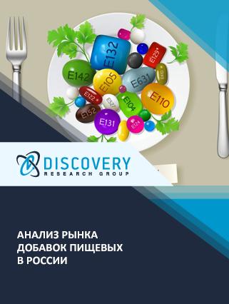 Анализ рынка добавок пищевых в России (с базой импорта-экспорта)