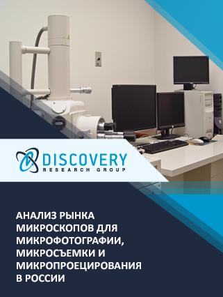 Маркетинговое исследование - Анализ рынка микроскопов для микрофотографии, микросъемки и микропроецирования в России