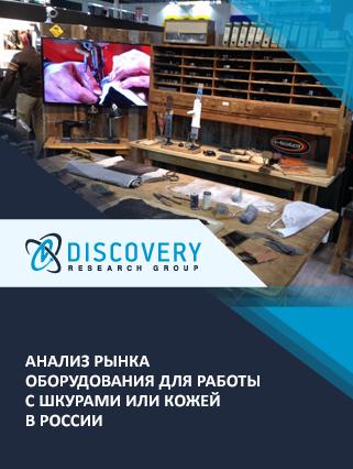 Анализ рынка оборудования для работы с шкурами или кожей в России