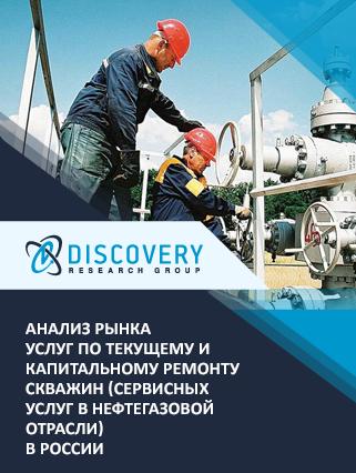 Маркетинговое исследование - Анализ рынка услуг по текущему и капитальному ремонту скважин в России