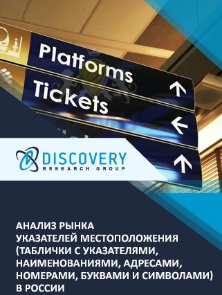 Анализ рынка указателей местоположения (таблички с указателями, наименованиями, адресами, номерами, буквами и символами) в России