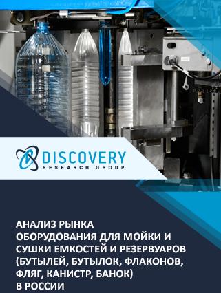 Маркетинговое исследование - Анализ рынка оборудования для мойки и сушки емкостей и резервуаров (бутылей, бутылок, флаконов, фляг, канистр, банок) в России
