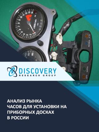 Анализ рынка часов для установки на приборных досках в России