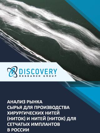 Анализ рынка сырья для производства хирургических нитей (ниток) и нитей (ниток) для сетчатых имплантов в России