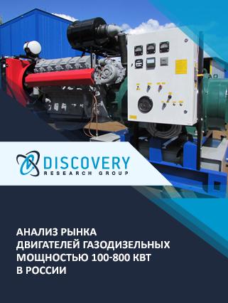 Анализ рынка двигателей газодизельных мощностью 100-800 кВт в России (с базой импорта-экспорта)