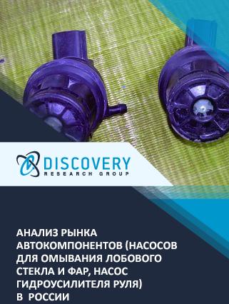 Маркетинговое исследование - Анализ рынка автокомпонентов (насосов для омывания лобового стекла и фар, насос гидроусилителя руля) в России (с базой импорта-экспорта)