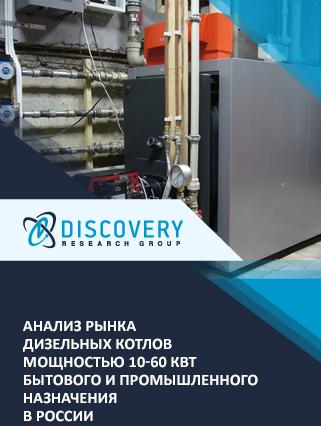 Анализ рынка дизельных котлов мощностью 10-60 кВт бытового и промышленного назначения в России (с базой импорта-экспорта)