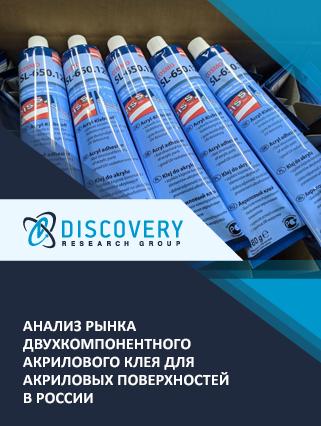 Маркетинговое исследование - Анализ рынка двухкомпонентного акрилового клея для акриловых поверхностей в России (с базой импорта-экспорта)