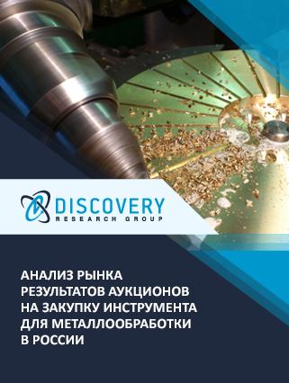 Маркетинговое исследование - Анализ результатов аукционов на закупку инструмента для металлообработки в России