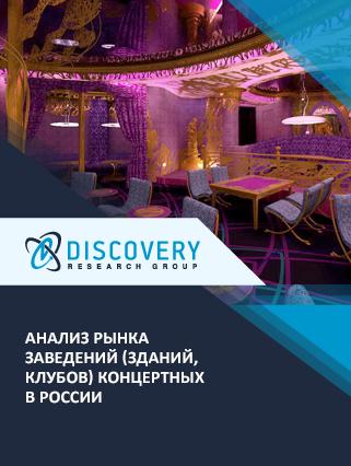 Маркетинговое исследование - Анализ рынка заведений (зданий, клубов) концертных в России