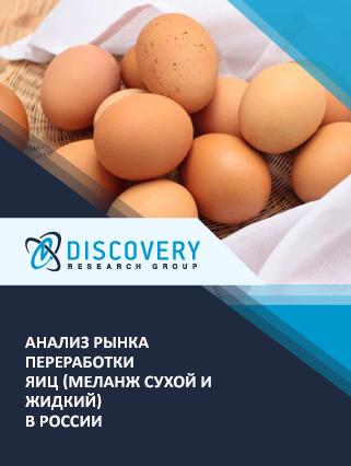 Анализ рынка переработки яиц (меланж сухой и жидкий) в России