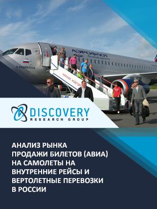 Маркетинговое исследование - Анализ рынка продажи билетов (авиа) на самолеты на внутренние рейсы и вертолетные перевозки в России