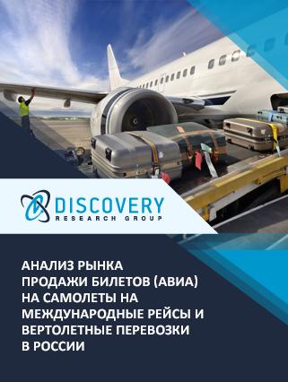 Маркетинговое исследование - Анализ рынка продажи билетов (авиа) на самолеты на международные рейсы и вертолетные перевозки в России