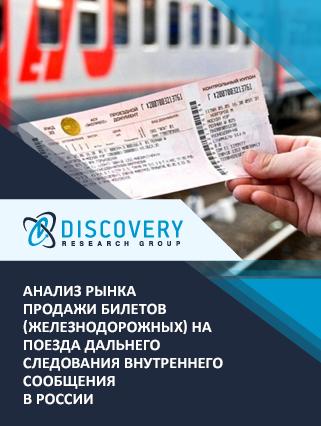 Анализ рынка продажи билетов (железнодорожных) на поезда дальнего следования внутреннего сообщения в России