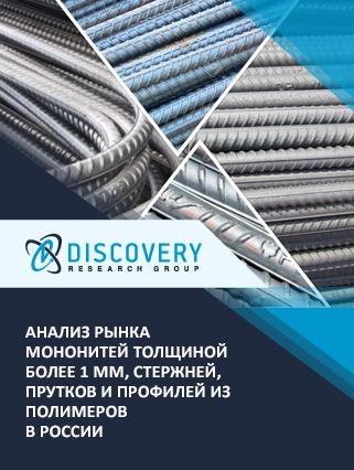 Маркетинговое исследование - Анализ рынка мононитей толщиной более 1 мм, стержней, прутков и профилей из полимеров в России
