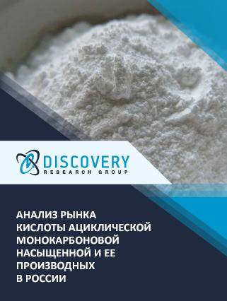 Анализ рынка кислоты ациклической монокарбоновой насыщенной и ее производных в России