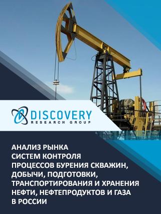 Анализ рынка систем контроля процессов бурения скважин, добычи, подготовки, транспортирования и хранения нефти, нефтепродуктов и газа в России