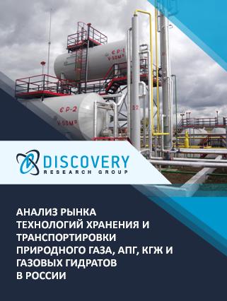 Анализ рынка технологий хранения и транспортировки природного газа, АПГ, КГЖ и газовых гидратов в России