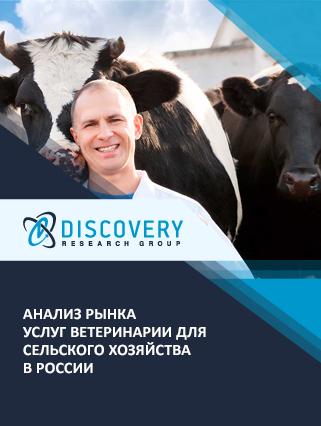 Маркетинговое исследование - Анализ рынка услуг ветеринарии для сельского хозяйства в России