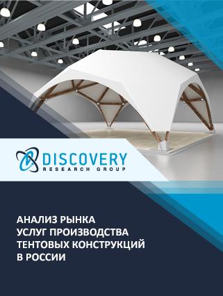 Маркетинговое исследование - Анализ рынка услуг производства тентовых конструкций в России