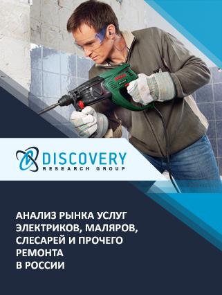 Маркетинговое исследование - Анализ рынка услуг электриков, маляров, слесарей и прочего ремонта в России