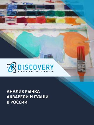 Анализ рынка акварели и гуаши в России