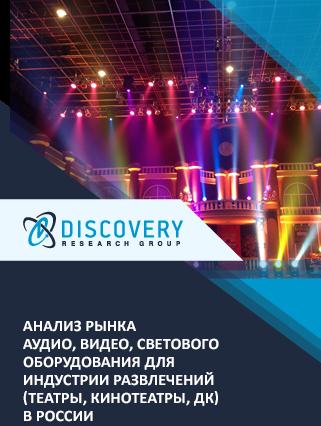 Анализ рынка аудио, видео, светового оборудования для индустрии развлечений (театры, кинотеатры, ДК) в России