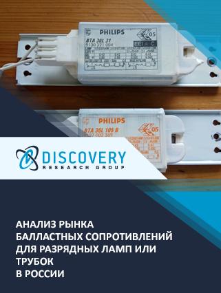 Анализ рынка балластных сопротивлений для разрядных ламп или трубок в России