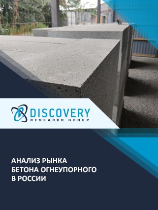 Маркетинговое исследование - Анализ рынка бетона огнеупорного в России
