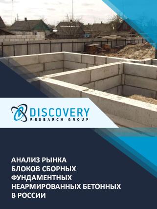 Маркетинговое исследование - Анализ рынка блоков сборных фундаментных неармированных бетонных в России