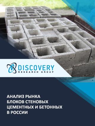 Маркетинговое исследование - Анализ рынка блоков стеновых цементных и бетонных в России