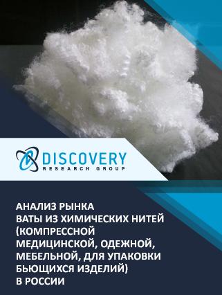 Анализ рынка ваты из химических нитей (компрессной медицинской, одежной, мебельной, для упаковки бьющихся изделий) в России